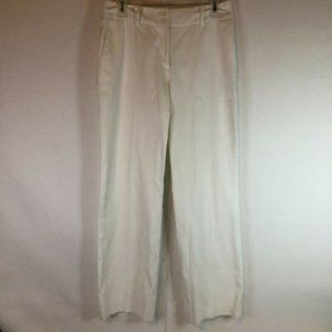 Brooks Brothers Women's High Quality White Pants